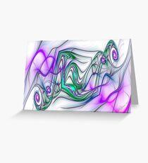 PONG Swirls Greeting Card