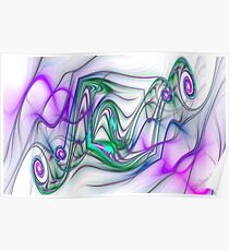 PONG Swirls Poster