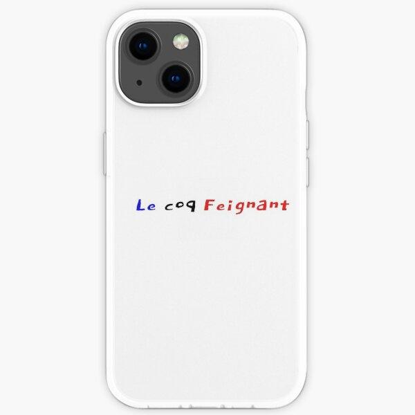 Le coq Feignant! Coque souple iPhone