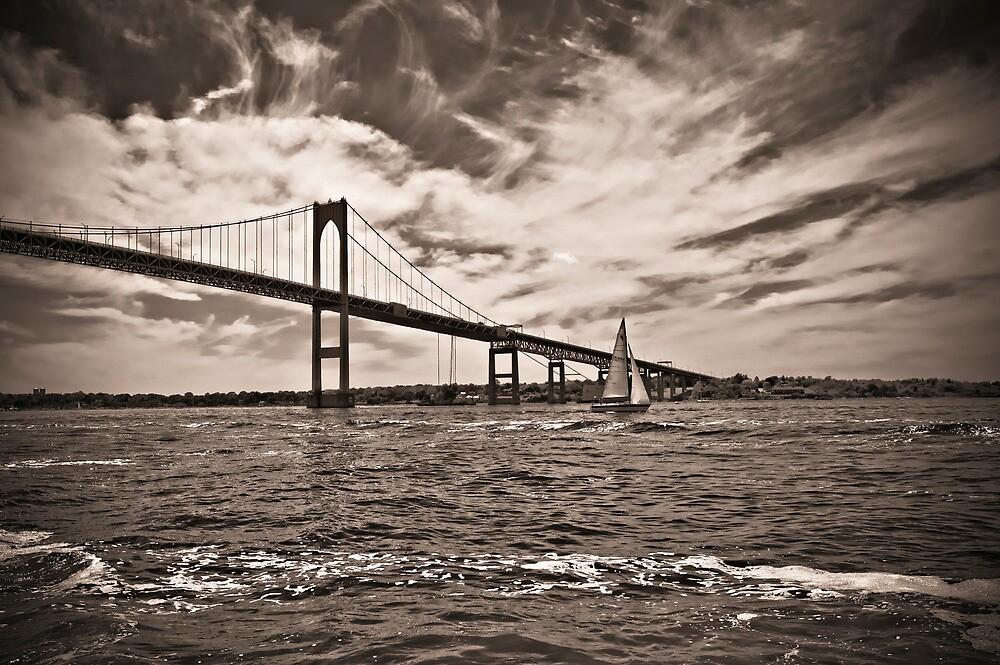 Newport Bridge by Eric Lindquist