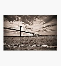Newport Bridge Photographic Print