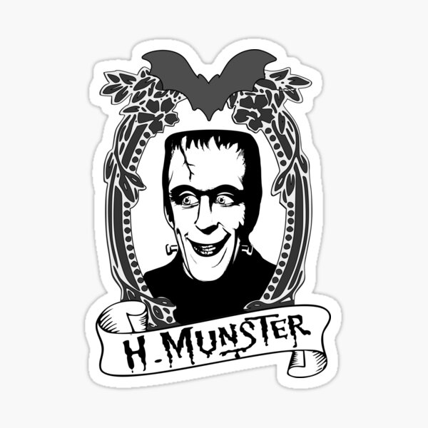 Herman Munster - The Munsters Sticker