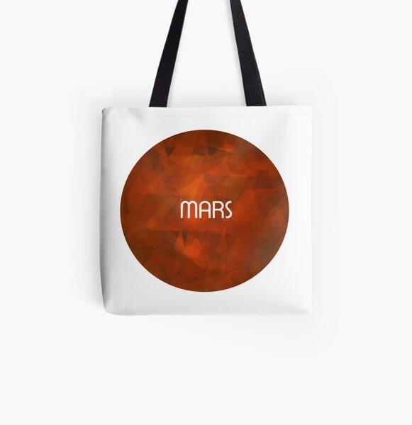 Mars Allover-Print Tote Bag
