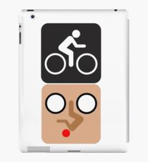 Bicycle Face! iPad Case/Skin