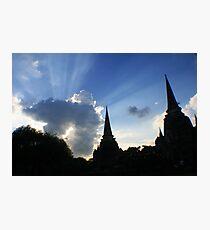 Shining sky Photographic Print