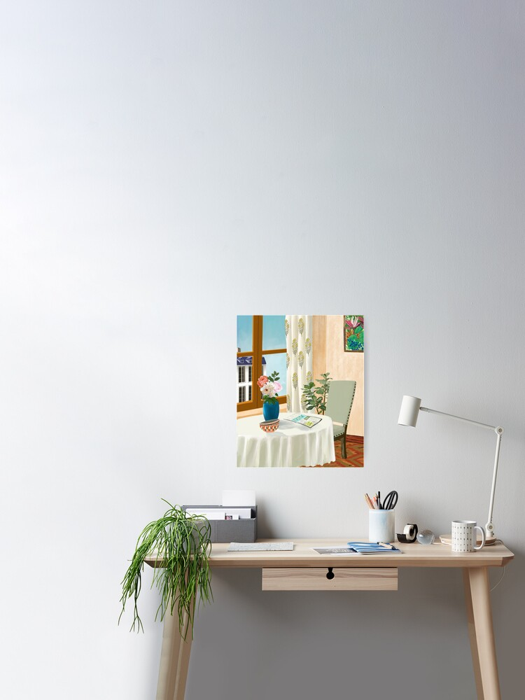 A Quiet Corner Poster By Artmozpheric Redbubble