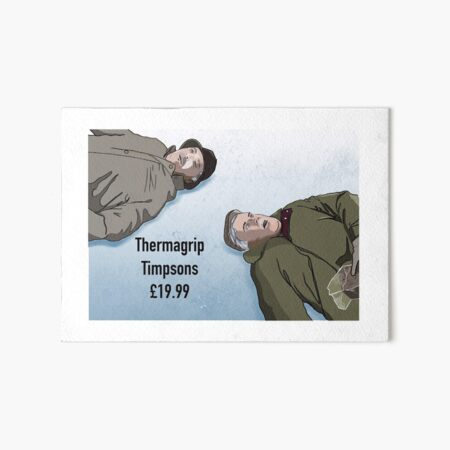 Still Game artwork Art Board Print