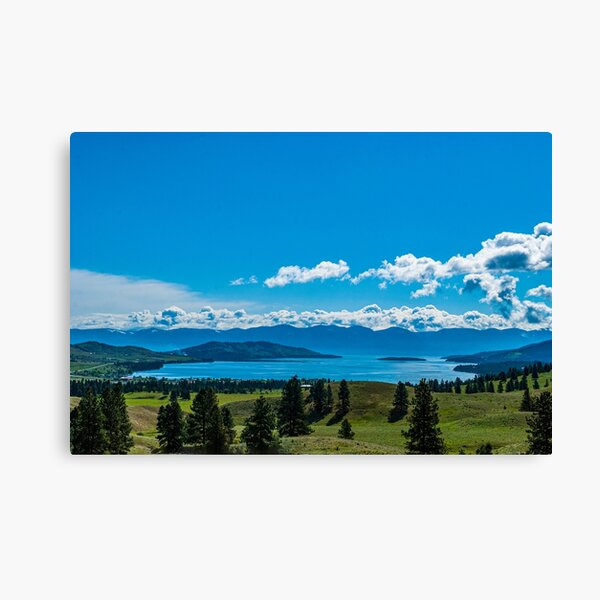 Early Morning over Big Arm Bay Canvas Print