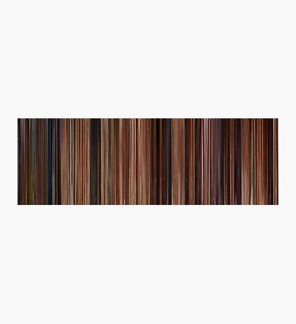 Moviebarcode: Ratatouille (2007) Photographic Print
