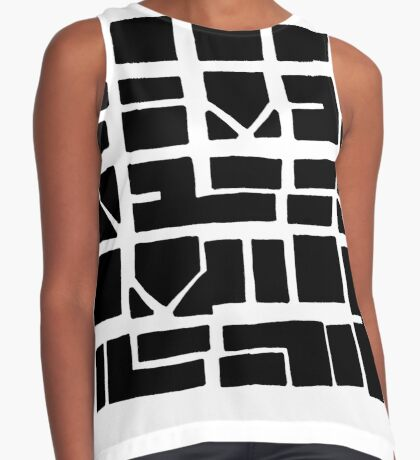 NUCLE... (BLACK SPACE) Sleeveless Top