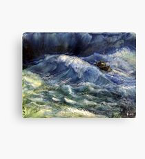The power wave Canvas Print