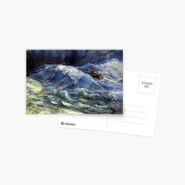 The power wave Postkarte