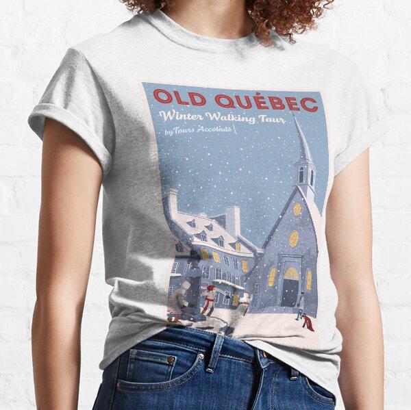 Old Quebec: Winter Walking Tour T-shirt classique