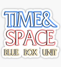 Time & Space Sticker