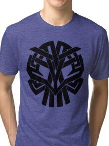 Tribal Skull Tri-blend T-Shirt