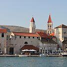 Trogir waterfront by Elena Skvortsova