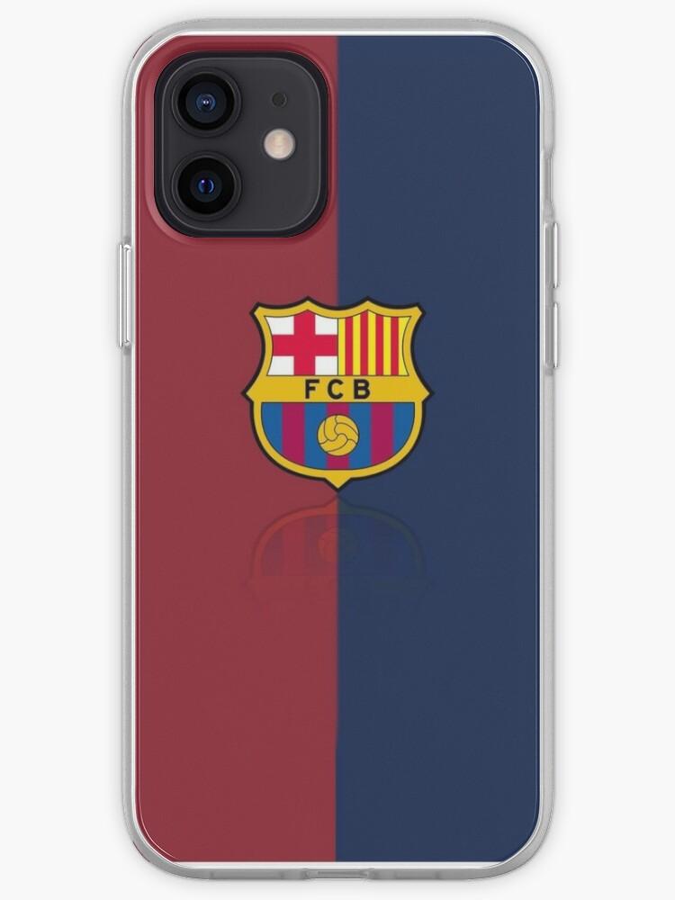 Étui à logo FC Barcelona   Coque iPhone