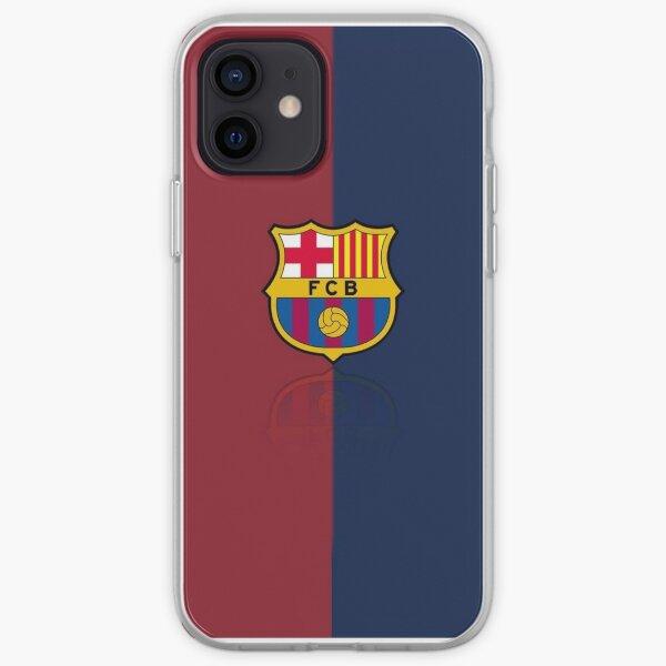 Funda con logo del fc Barcelona Funda blanda para iPhone