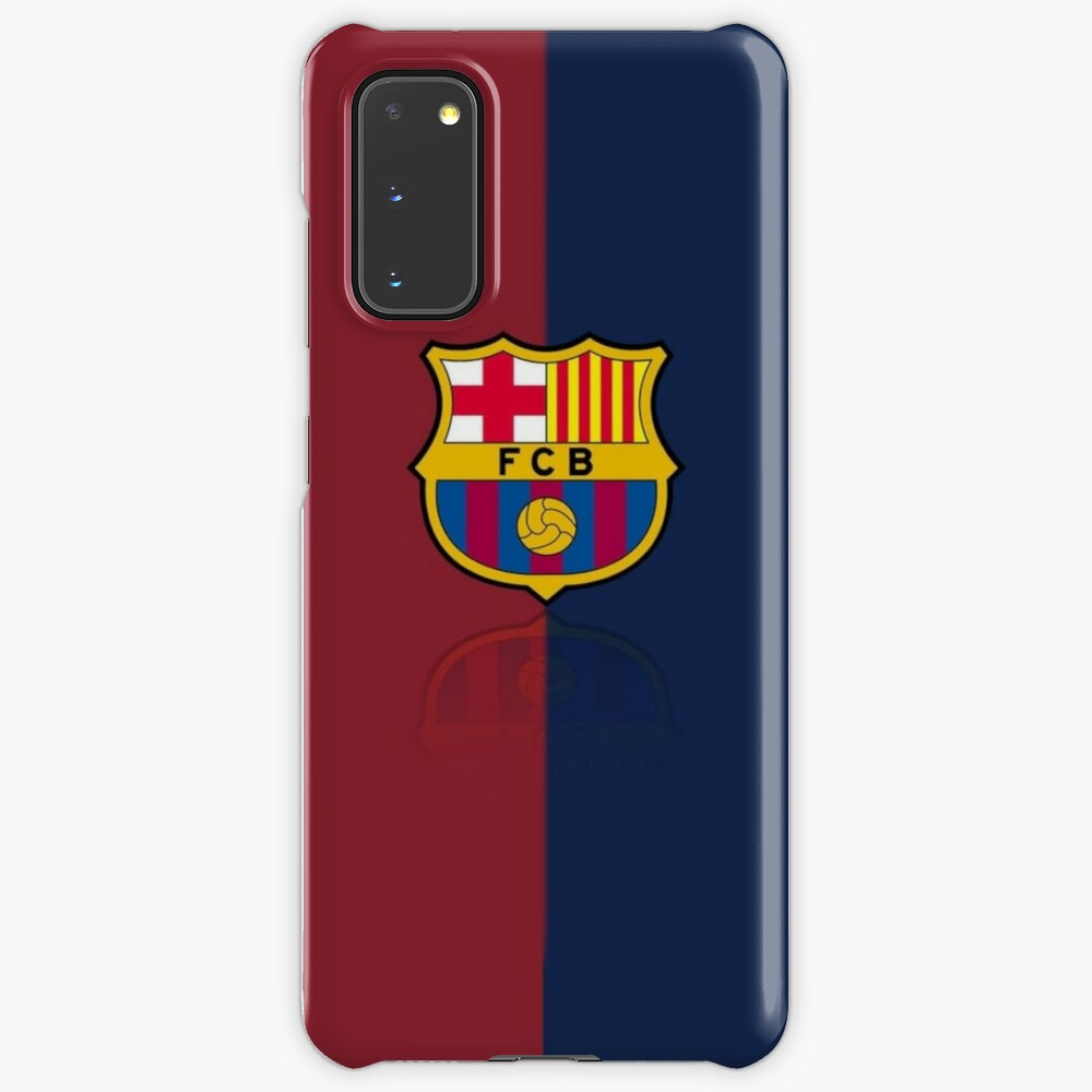 fc barcelona logo case case skin for samsung galaxy by arlind85 redbubble redbubble