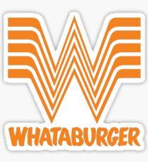 """""""whataburger"""" Sticker"""