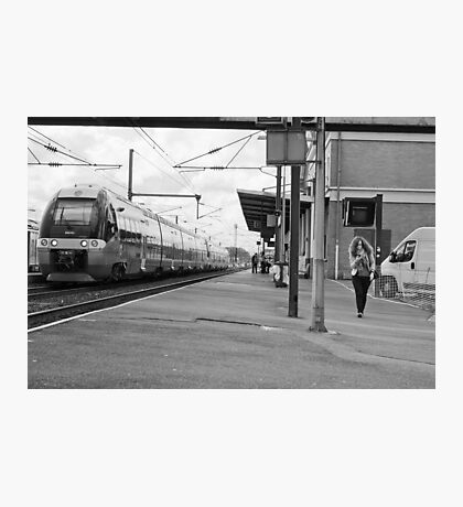 On time Photographic Print