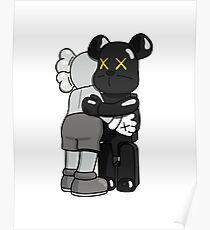 Kaws Bear Poster