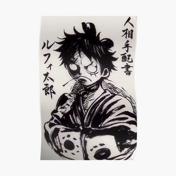 Poster Luffytaro Wano Poster