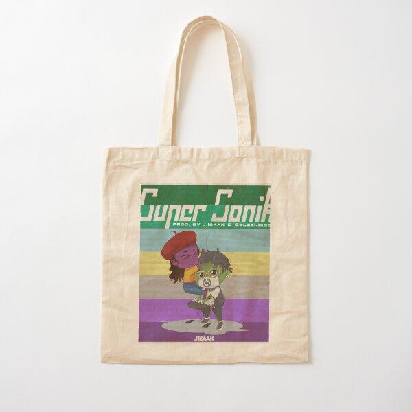 """Official """"Super Sonik"""" Merch Cotton Tote Bag"""