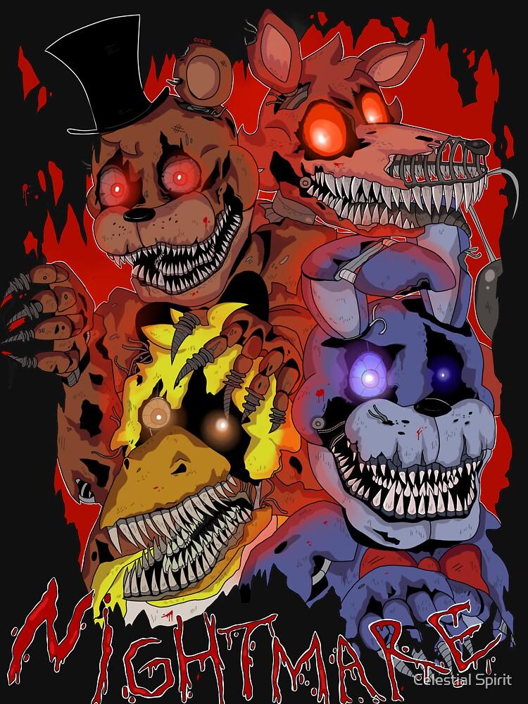 Fnaf 4 - Nightmare  | Unisex T-Shirt
