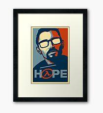 Half Life Hope Framed Print