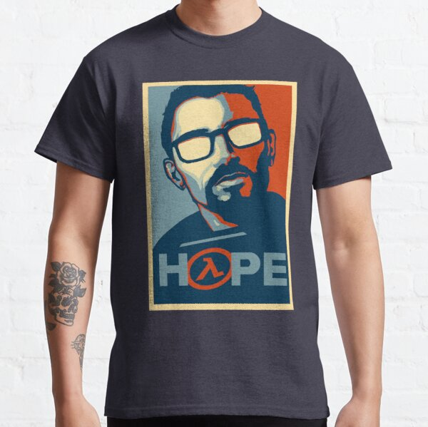 Half Life Hope Camiseta clásica