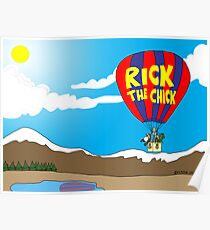 Rick the chick & Friends - JOURNEY IN A BALLOON Poster