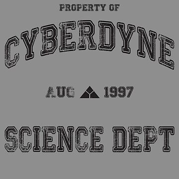 CyberDyne Science Dept Vintage (Terminator) by CloakAndDaggers
