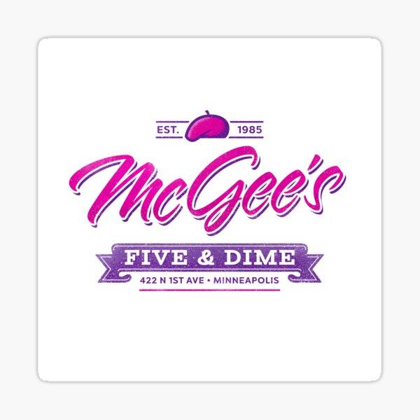 McGee's Five & Dime Sticker