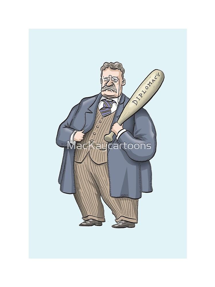 Theodore Roosevelt by MacKaycartoons