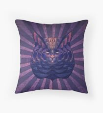 The Cosmic Bear Throw Pillow