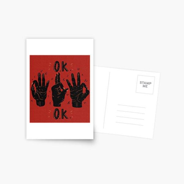Ok Postcard