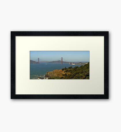 Land's End Golden Gate Framed Print