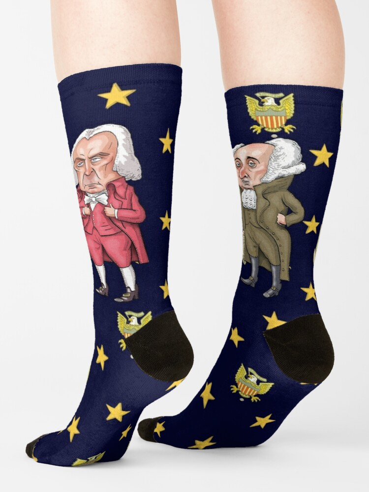 Alternate view of Founding Fathers | By Graeme MacKay Socks