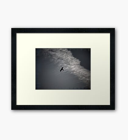Of Kites and Chemtrails II Framed Print