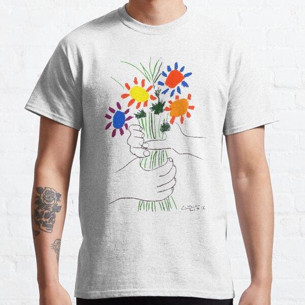 -ˈKæsoʊ /; Español: [βpaβlo piˈkaso]; 25 de octubre de 1881 - 8 de abril de 1973) fue un pintor español Camiseta clásica