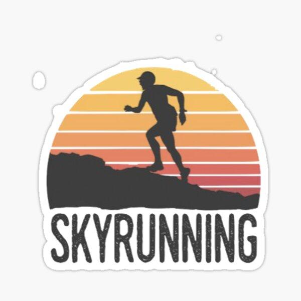 trail running Sticker