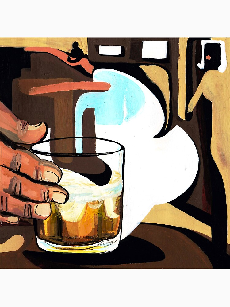 Beer glass illustration by CatarinaGarcia