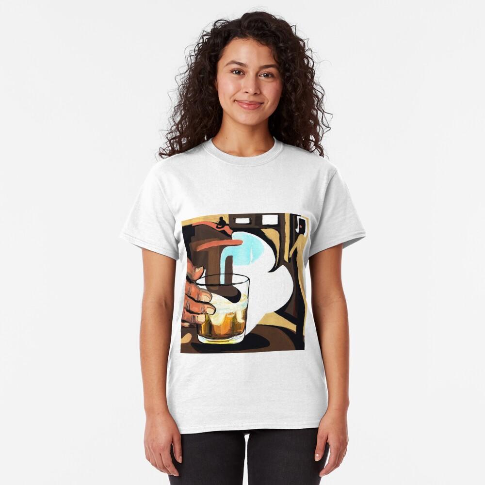 Beer glass illustration Classic T-Shirt