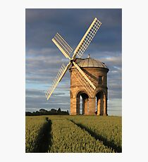 Windmill & Tram lines  Photographic Print