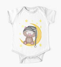 Cat moon dream Kids Clothes