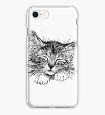 Cat animal iPhone Case/Skin