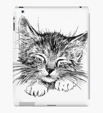 Cat animal iPad Case/Skin
