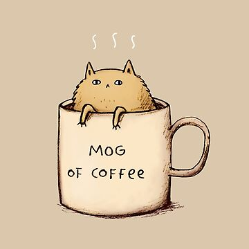 Mog of Coffee de SophieCorrigan