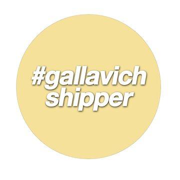 #gallavich shipper - yellow  by frnknsteinn